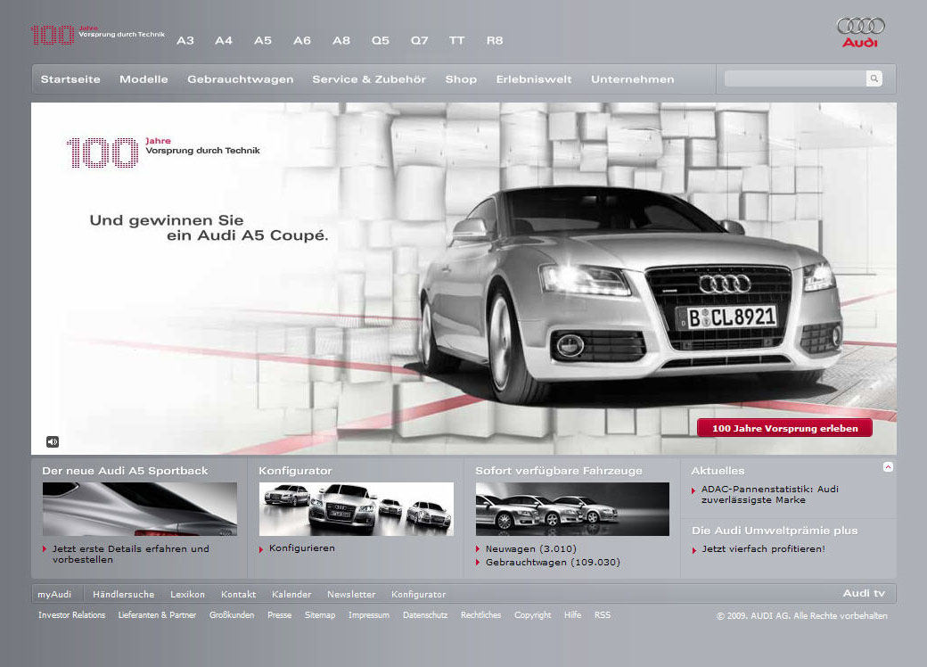 Most Effective Ways To Overcome Audi Websites Problem Audi - Audi official website