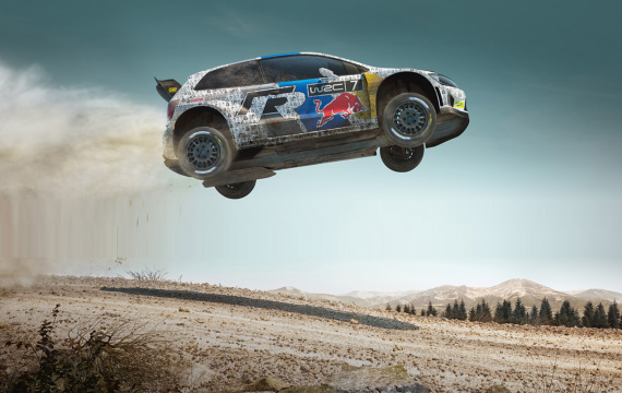 "VOLKSWAGEN WRC ""RALLY THE WORLD"""