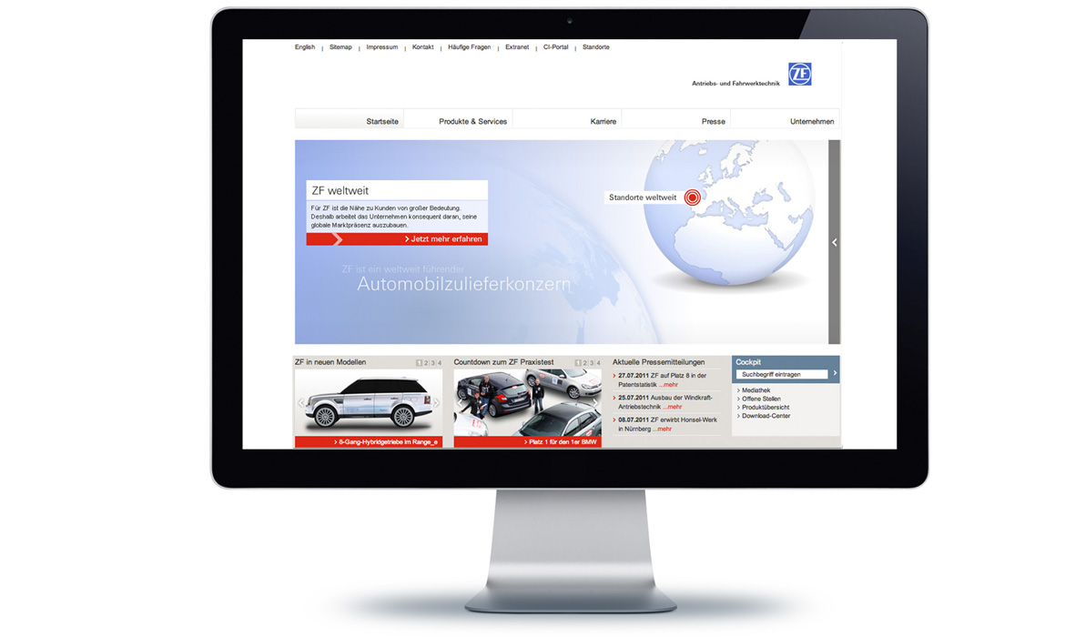 ZF Corporate Website